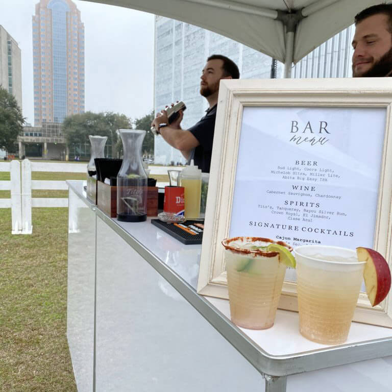 Tailgate Bars at the CFP National Championship