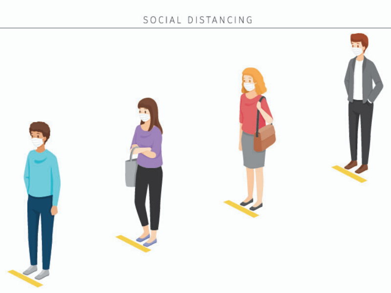 Social Distancing at Events